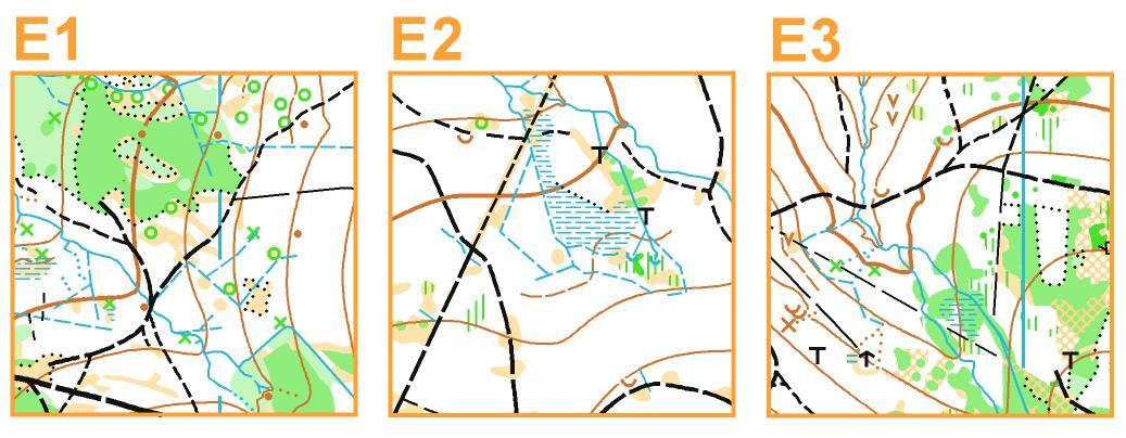 nahled map na jednotlive etapy