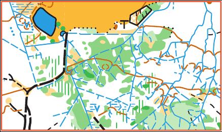 mapa - bludiště vodotečí